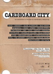 Cardboard City - Group Show
