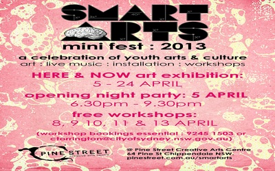 Smart ARTS Mini-Fest 2013 Launch Party