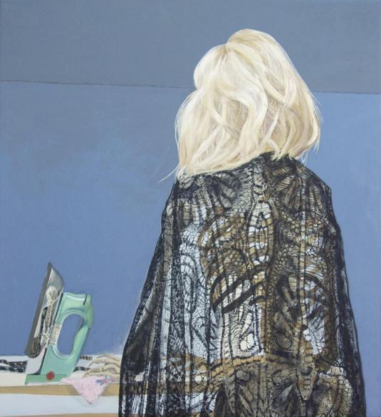 Debbie, 2010, oil on linen, 91.5x84cm_0