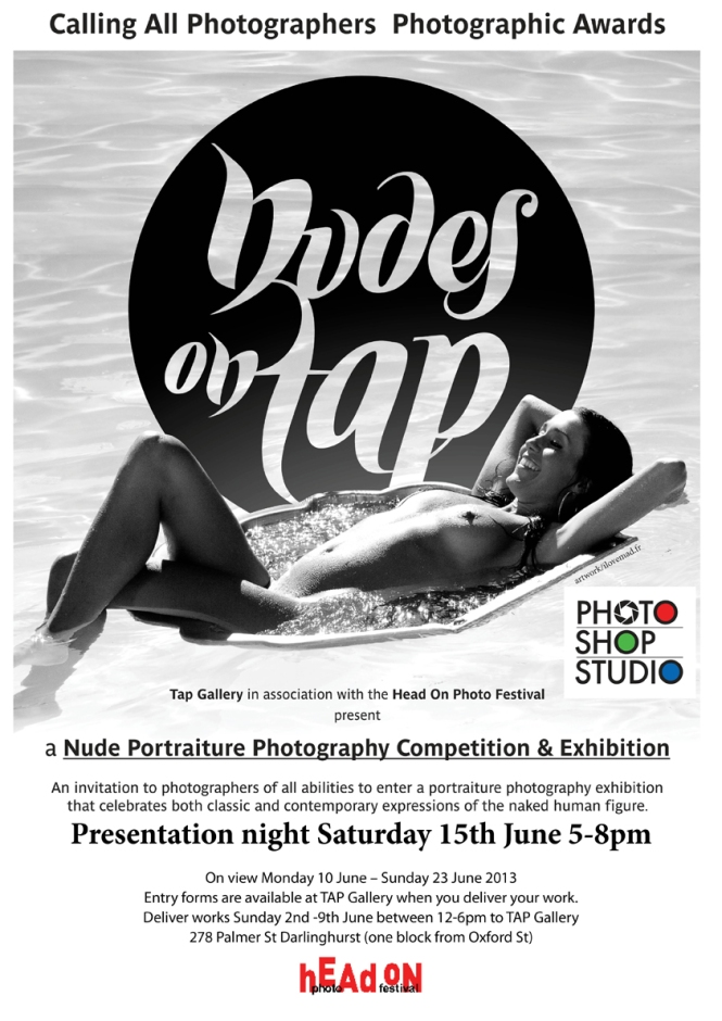Nudes on TAP 2013 poster final SMALL