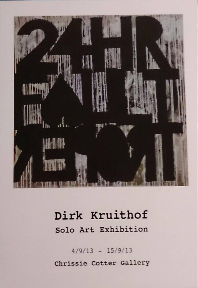 24 hour fault report - Dirk Kruithof.