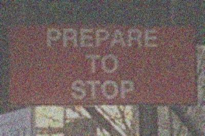 PREPARE TO STOP - KATIE LEE