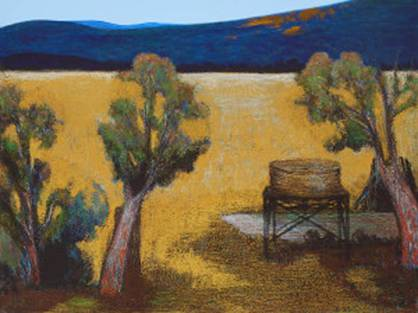 18th OCt Australian Landscape Paintings - NEVILLE PILVEN