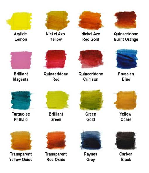 langridge Artist Oil colours